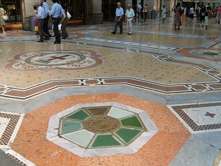 floor of the galleria