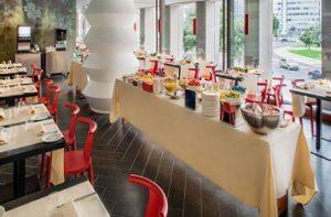 restaurant glam hotel milano