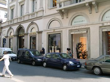 Shopping In Milan In Corso Vittorio Emanuele